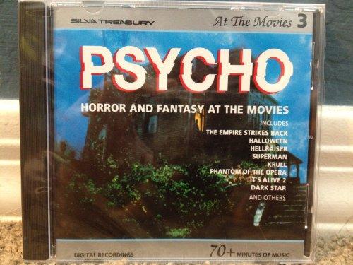 Psycho: Horror & Fantasy at Movies Various Artists Silva Screen