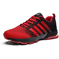 Kundork Mens Running Shoes Casual Walking Sneakers Fashion Workout Athletic Shoe for Men Sport Aerobics Volleyball