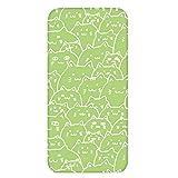 ホワイトナッツ iPhone4 ケース クリア ハード プリント パターンD(cw-269) スリム 薄型 ねこ ネコ 猫 CAT WN-PR456417