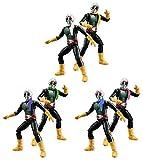 バンダイ SHODO(掌動) 仮面ライダーVS 4弾 ショッカーライダー6体セット(桃・緑・青・黄・白・紫)