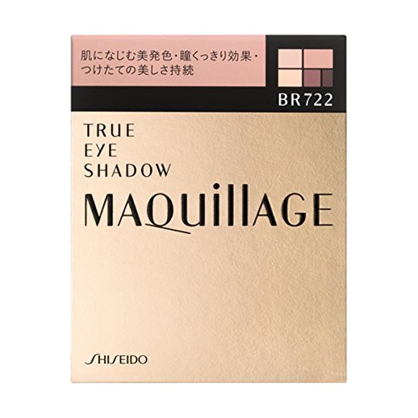 相互居間欠乏<2個セット>マキアージュ トゥルーアイシャドー BR722 本体 3.5g×2個