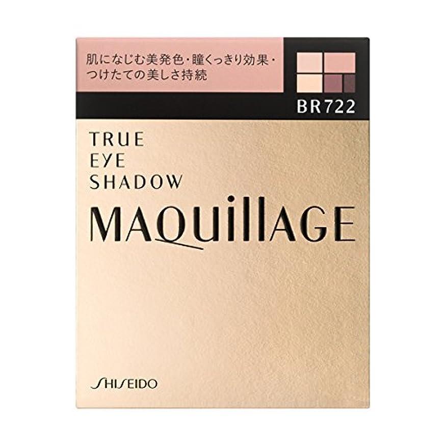 毛布桃インチ<2個セット>マキアージュ トゥルーアイシャドー BR722 本体 3.5g×2個