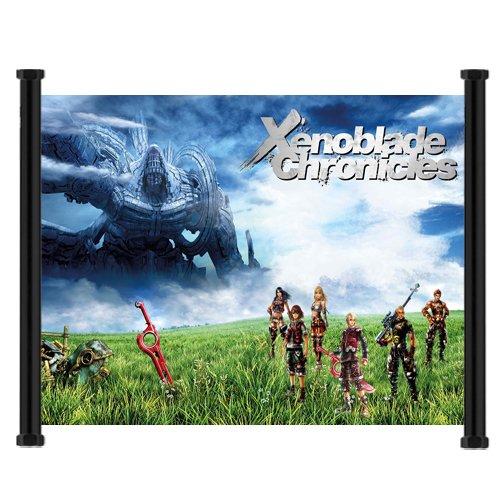 Xenoblade Chroniclesゲームファブリック壁...