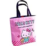 Kerr's Choice Hello Kitty Tote Bag Hello Kitty Shopping Bag Gym Bag Hello Kitty Lunch Bag | Hello Kitty Gift (Hello Kitty 2)
