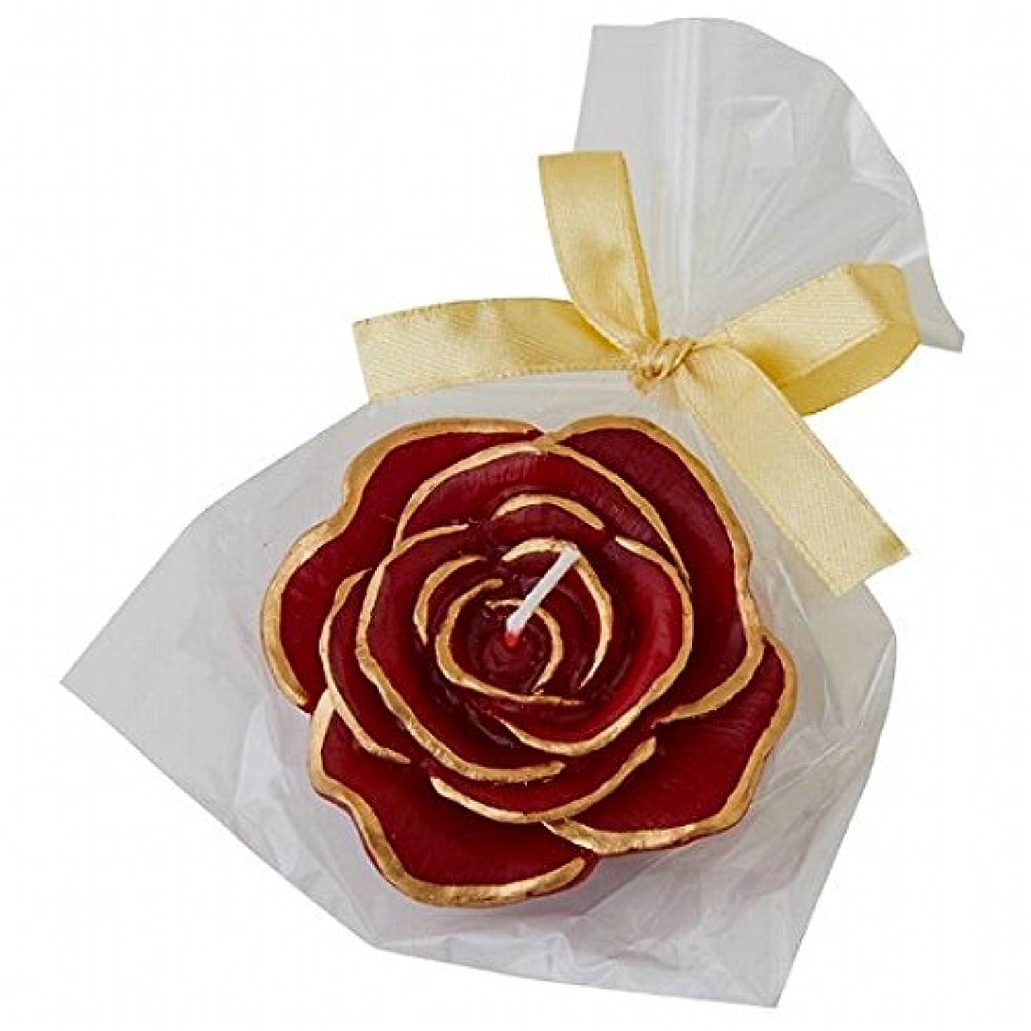 脱臼するイタリック見かけ上カメヤマキャンドル(kameyama candle) プリンセスローズ キャンドル 「ワインレッド」