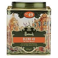 Harrods(ハロッズ)  ヘリテージ ブレンド 49 ティーバッグ 50個 英国 紅茶 / Heritage Blend 49 (50 Tea Bags) [並行輸入品]