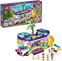 LEGO Friends Friendship Bus 41395 Lego Heartlake City Toy Playset Building Kit Promotes Hours of Creative Play