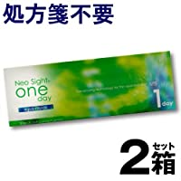 ネオサイトワンデー アクアモイスト 1箱30枚入 ×2箱 【BC】8.6 【PWR】-4.25