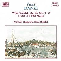 Danzi: Wind Quintets Op. 56, Nos. 1-3 / Sextet in E Flat Major (1995-08-22)