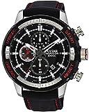 [セイコー パルサー]SEIKO PULSAR 100m防水 1/10秒クロノグラフ ブラック 腕時計 メンズ PM3051 [並行輸入品]