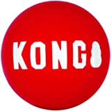 KONG - Signature Balls - 2 Pack Durable Ball for Chasing and Retrieving - for Large Dogs
