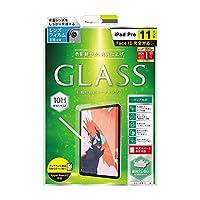 Simplism (シンプリズム) iPad Pro 11インチ 液晶保護強化ガラス(光沢) TR-IPD18S-GL-CC