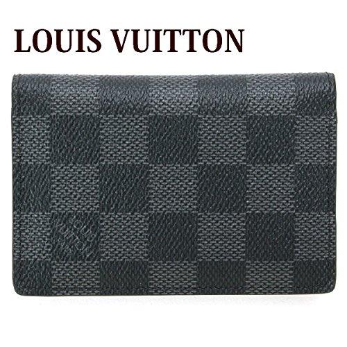 (ルイヴィトン) LOUIS VUITTON カードケース 名刺入れ オーガナイザー・ドゥ・ポッシュ ダミエグラフィット N63210