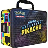 Pokemon TCG:Detective PikachuCollector Treasure Chest + 9 Booster Pack + A Collector's Pin + A Notepad & Sticker Sheet