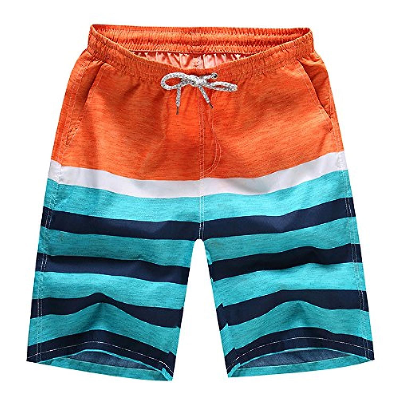 ショートパンツ メンズ Dafanet メンズ 水着 サーフパンツ ボードショーツ 海?陸両用 海水パンツ 海パン ハーフパンツ フェス スイムショーツ ランニング レジャー スポーツ 男性 速乾 人気 夏 M-4XL