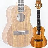 ELVIS エルビス ウクレレ コンサートサイズ ハワイアンコア材 美木目 スロテッドヘッド アコースティック K100C ソフトケース付