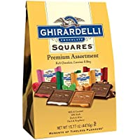 Ghirardelli Chocolate Squares Premium ギラデリチョコレートスクエアプレミアムアソートメント440g1袋 [並行輸入品]