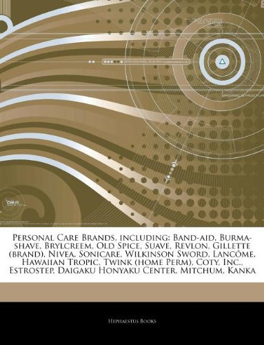 Articles on Personal Care Brands, Includ...