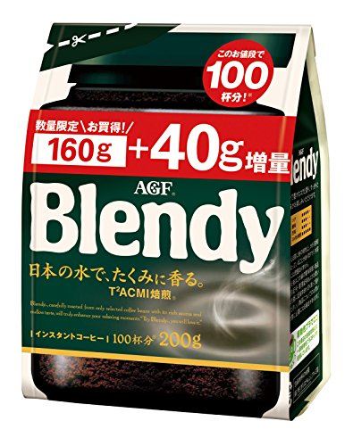 味の素AGF ブレンディ 1袋 160g+40g増量