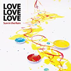 LOVE LOVE LOVE「雨上がりの空の下」のCDジャケット