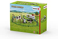 Schleich North America Cow Family On The Oasture Toy Figure [並行輸入品]