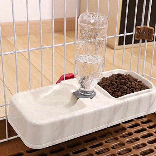 Gifty ペット用品 自動給水器 犬 猫 給水 給餌 水やり 水飲み 食器 ケージ固定 留守番用
