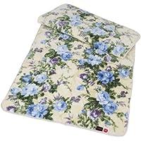 《毛布の上で寝る心地よさ》テイジン ふんわり やわらか あったか敷きパッド シングル (ブルー系)