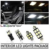 LEDpartsNow 2013???2015キャデラックATS LED内部ライトアクセサリー交換パッケージキット( 16ピース)、ホワイト