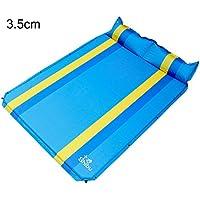 CGN 自動インフレータブルベッドSuvクッションベッド、折りたたみポータブルアウトドアカーNAPマットレス旅行寝台マットレジャーバケーションキャンプ防湿パッド3.5cm厚い 持ち運びが容易 ( 色 : #4 )