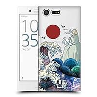 Head Case Designs グレート・サーフ ギャラクシー・ウェーブ ハードバックケース Sony Xperia X Compact