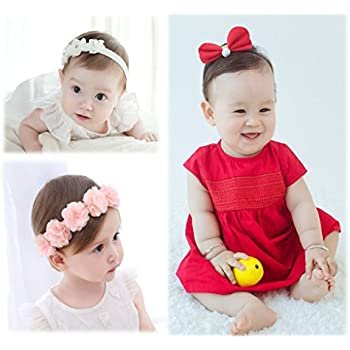 936f93ab57670 MOFFY (モッフィー)   おめかしセット   ベビーヘアバンド 3点 セット 新生児 出産
