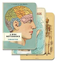 Cavallini Papers & Co,Inc. mini notebook 3 curiosities sm [並行輸入品]