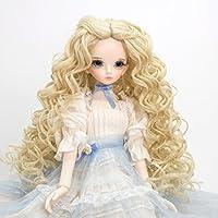 Prettyia 人形 ドール ウィッグ かつら 波状 BJDドルフィー人形適用 1/4 スケール カーリーヘア 全9種類選ぶ - 04