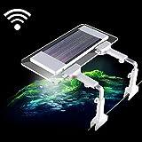 水槽用LEDライト 魚類専用 照明 アクアリウムライト 24LED 16色変換 水草育成 リモートコン遠隔操作 幅と高さ調整可能 省エネ型 雰囲気作り