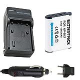 バッテリーと充電器for SonyアクションカムHdr - as10、- as15、hdr-as200vr POV