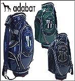 【2015年数量限定モデル】adabat【アダバット】メンズゴルフ キャディバッグ ABC289 即納,グリーン