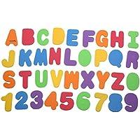 Greensun TM 36個/ロットカラフルな文字&数字ステッカーバスルームフローティングFoam Bathtub Toyベビーキッズ早期教育玩具
