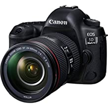 Canon EOS 5D Mark IV Premium Kit with EF 24-105mm f 4L IS II Digital Camera - SLR(5DIVPK) 3.2Inch Display,Black (Australian warranty)