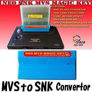 業務用MVS基盤をネオジオ本体で使用するためのコンバーター(チート機能付き) MVSコンバータ Neo SNK ARCADE MVS Magic Key / MVS to SNK CONVERTOR Dianziオリジナルバージョン[CXD0019] [並行輸入品]