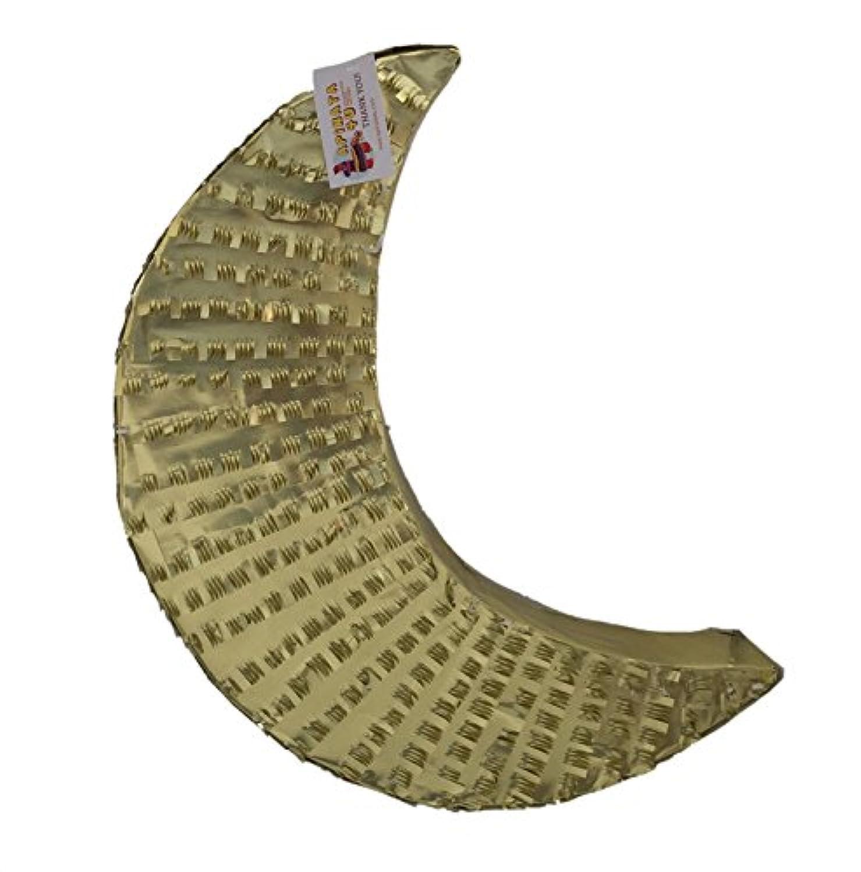 apinata4u Crescent Moon Pinataゴールドカラー