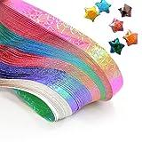(ライチ) Lychee 90枚セット 折り紙 手作り 星の折り紙 ラッキースター 光沢 手芸 ペーパークラフト