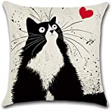 AchirStyle Home Decorative Cushion Cover Pillowcase Square Decoration Pillowcase Sofa Cushion Throw Pillow Cover (18x18)