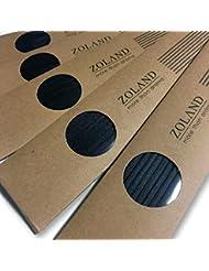 【YOLO】リードディフューザー 用 リフィル スティック/ブラック 24cm×3mm 10本入×5セット (ブラック)