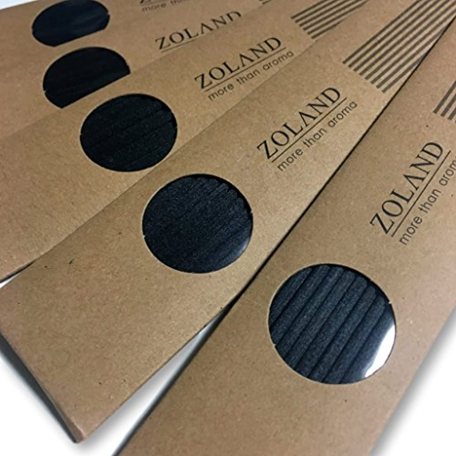 リーフレット歌う家庭【YOLO】リードディフューザー 用 リフィル スティック/ブラック 24cm×3mm 10本入×5セット (ブラック)
