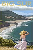 Big Sur、カリフォルニアCoastシーン 24 x 36 Giclee Print LANT-33221-24x36