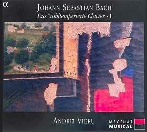 J.S. Bach:Das Wohltemperierte Clvier Vol. 1
