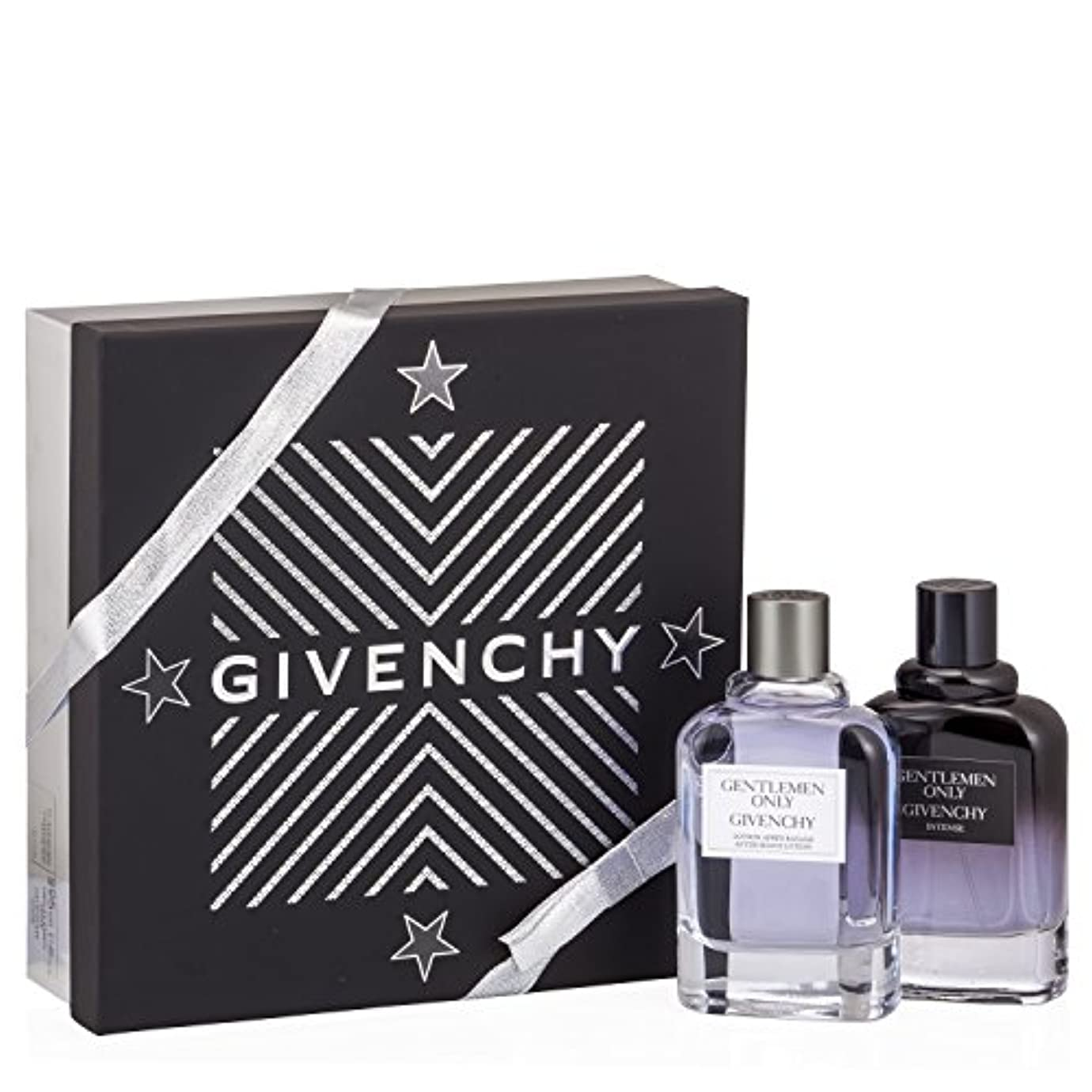 やりがいのあるメキシコ残高ジバンシィ Gentlemen Only Coffret: Intense Eau De Toilette Spray 100ml/3.4oz + After Shave 100ml/3.3oz 2pcs並行輸入品