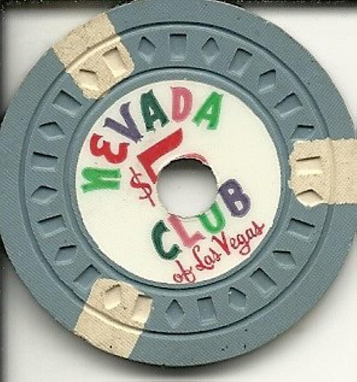 $ 5ネバダクラブドリルラスベガスカジノチップヴィンテージ