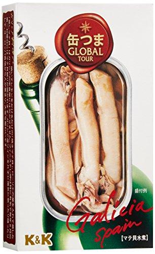 缶つま Global Tour マテ貝のシーソルト 80g