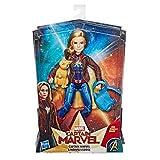 Marvel Captain Super Hero Doll & Goose the Cat マーベルキャプテンスーパーヒーロードール&グースザキャットフィギュア [並行輸入品]